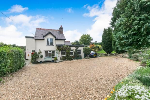 Thumbnail Detached house for sale in Smelt Road, Coedpoeth, Wrexham