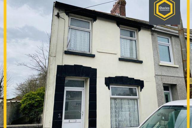 Thumbnail End terrace house for sale in Bassett Terrace, Llanelli