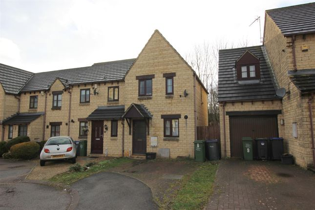 Thumbnail End terrace house for sale in Kelso Court, Chippenham
