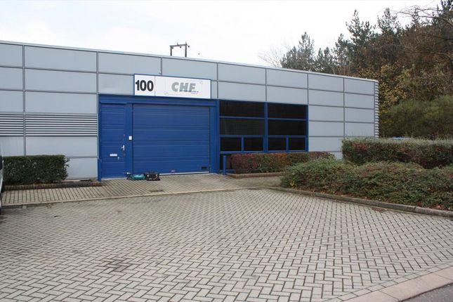 Thumbnail Warehouse to let in 100 Tanners Drive, Blakelands, Milton Keynes, Buckinghamshire