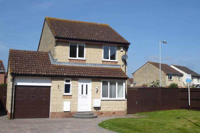 3 bed detached house to rent in Tudor Way, Bridgwater