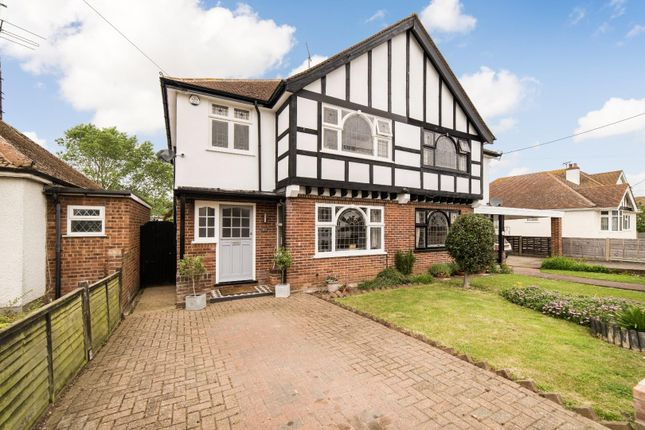 Thumbnail Semi-detached house for sale in St. Swithins Road, Whitstable