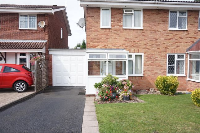 Thumbnail Semi-detached house to rent in Gleneagles Road, Wolverhampton