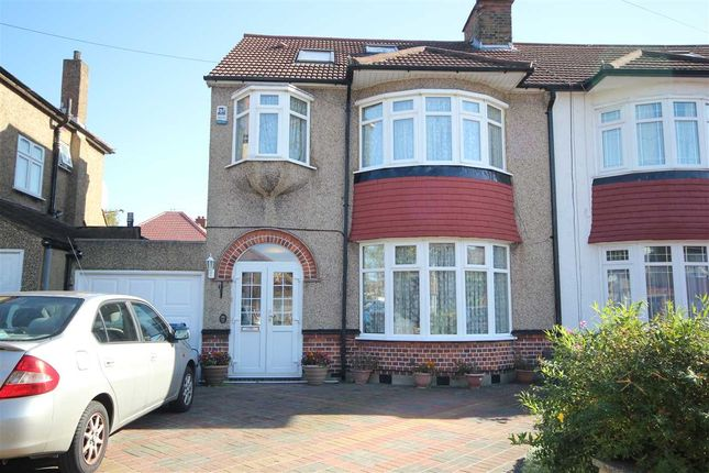 Thumbnail Semi-detached house to rent in Lankers Drive, Harrow