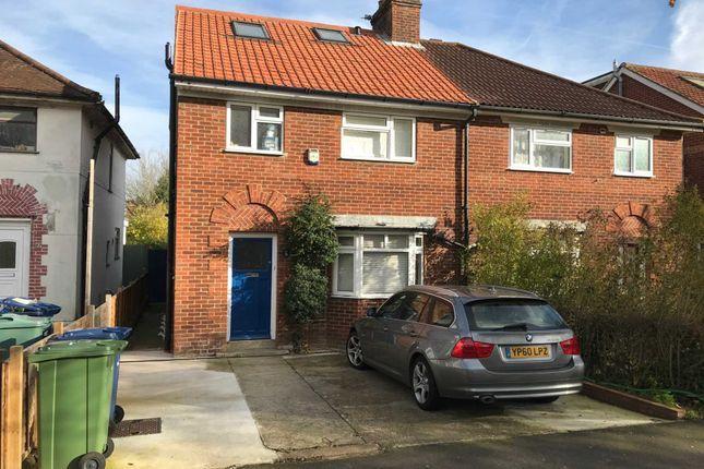 Thumbnail Semi-detached house to rent in Gipsy Lane, Headington, Oxford