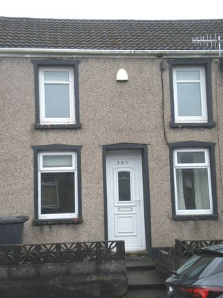 Thumbnail Terraced house to rent in Cardiff Road, Aberaman, Aberdare