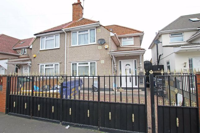Thumbnail Semi-detached house to rent in Roseville Avenue, Hounslow