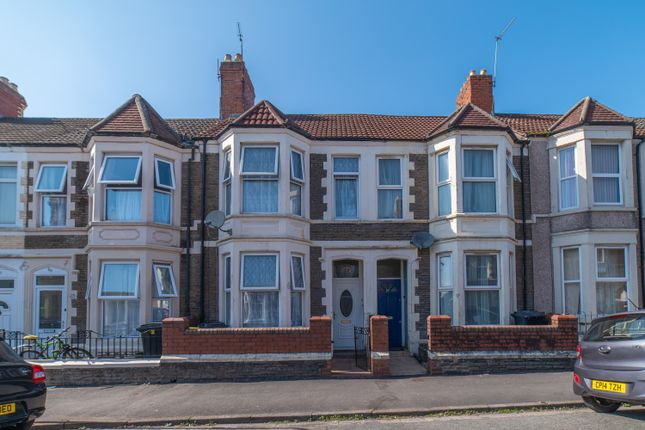 Thumbnail Terraced house for sale in Tewkesbury Street, Cathays, Cardiff