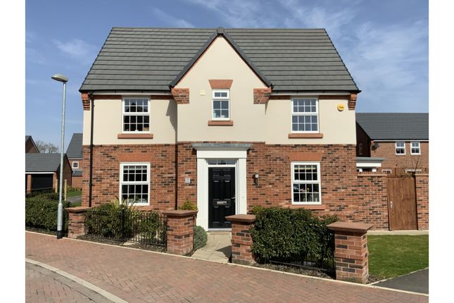 Thumbnail Detached house for sale in Avenue, Stapeley, Nantwich