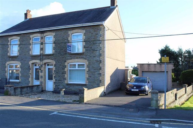 Thumbnail Semi-detached house for sale in Heol Y Parc, Cefneithin, Llanelli