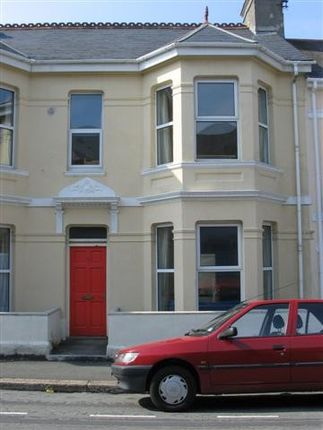 Thumbnail Town house to rent in Egerton Road, Greenbank, Plymouth