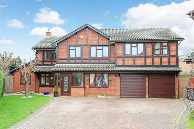 Thumbnail Detached house for sale in Wych Elm Drive, Shawbirch, Telford