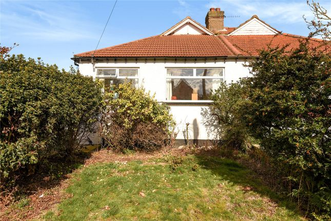Thumbnail Semi-detached bungalow for sale in Lyndhurst Avenue, Pinner, Middlesex