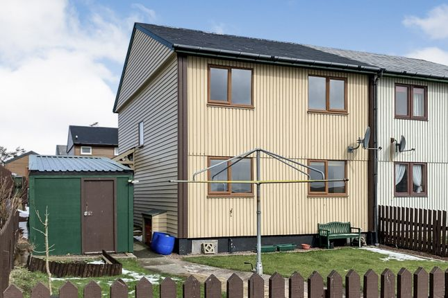Thumbnail Semi-detached house for sale in Ollaberry, Shetland