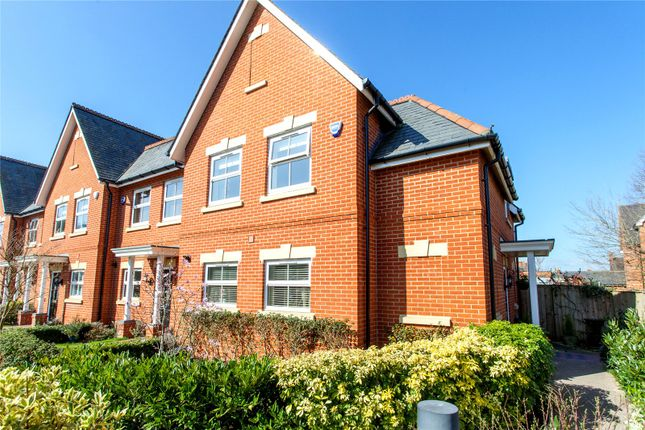 Thumbnail End terrace house for sale in Charlotte Mews, Henley-On-Thames, Oxfordshire