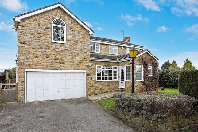 4 bed detached house for sale in Backhouse Lane, Woolley, Wakefield WF4