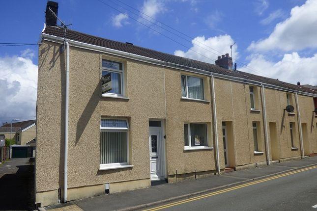 Thumbnail End terrace house for sale in Payne Street, Melyn, Neath.