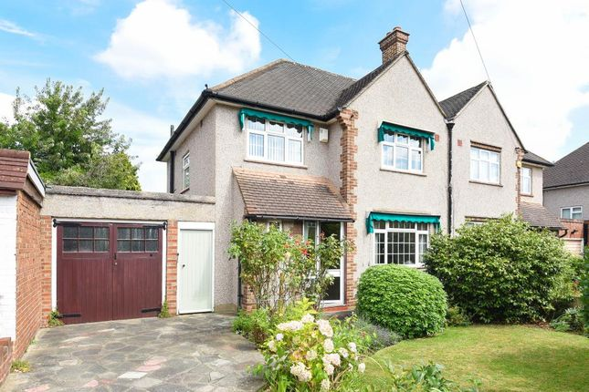 Thumbnail Semi-detached house for sale in Queens Avenue, Hanworth Park
