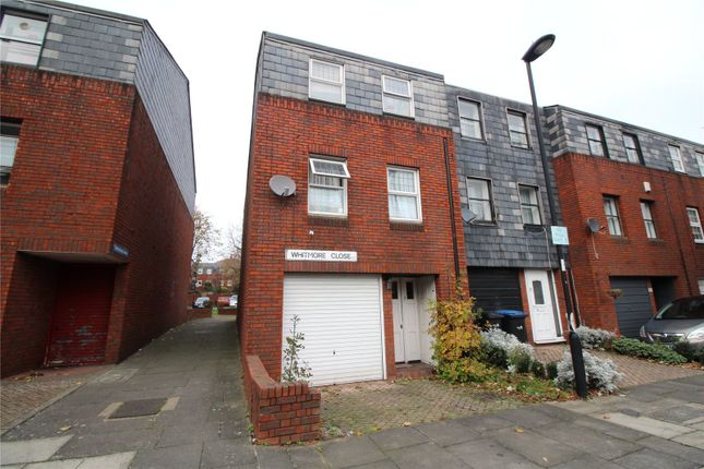 Thumbnail End terrace house for sale in Whitmore Close, New Southgate, London