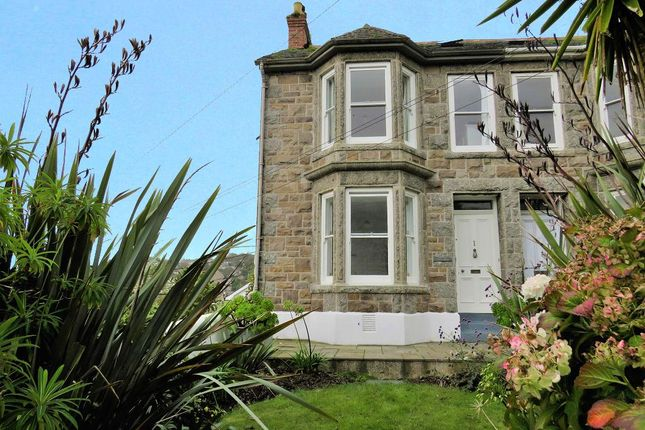 Thumbnail End terrace house for sale in Orchard Terrace, Newlyn, Penzance, Cornwall
