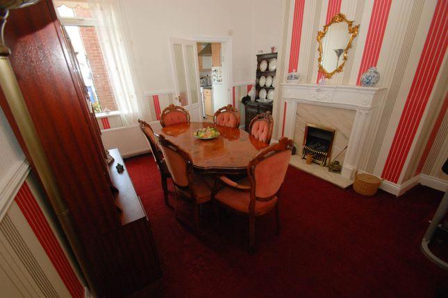 Dining Room of Aston Street, South Shields NE33