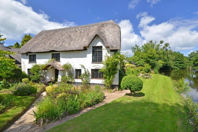 Thumbnail 5 bed cottage for sale in Bickleigh, Tiverton