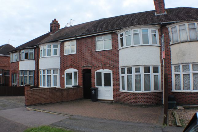 Thumbnail Terraced house to rent in Lymington Road, Leicester