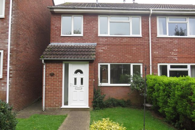 Thumbnail Semi-detached house to rent in Runnymede Road, Yeovil