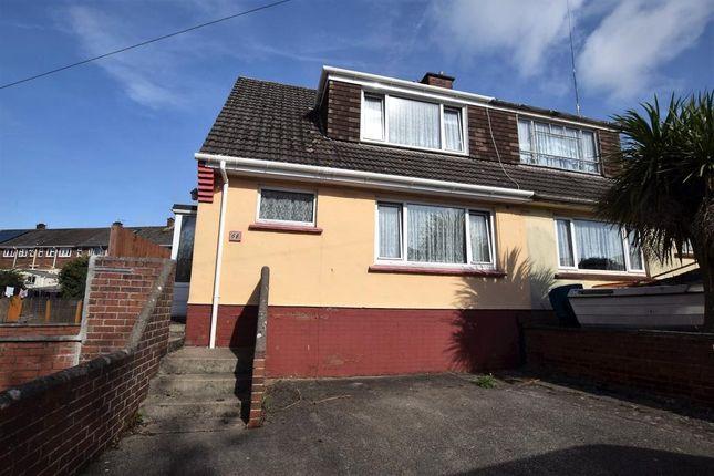 Thumbnail Semi-detached bungalow for sale in Belfield Road, Paignton, Devon