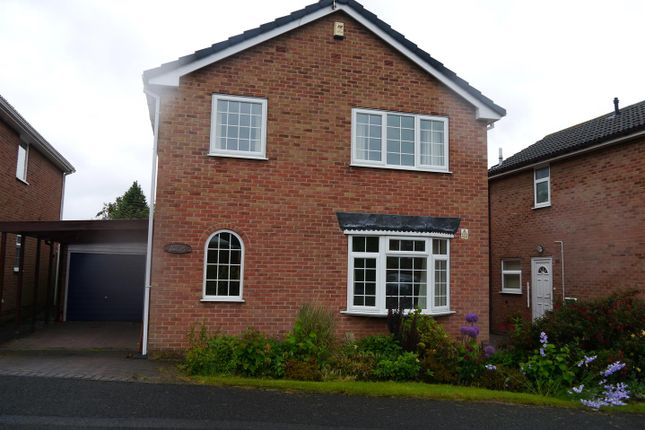 Thumbnail Detached house to rent in Rye Close, Oakwood, Derby