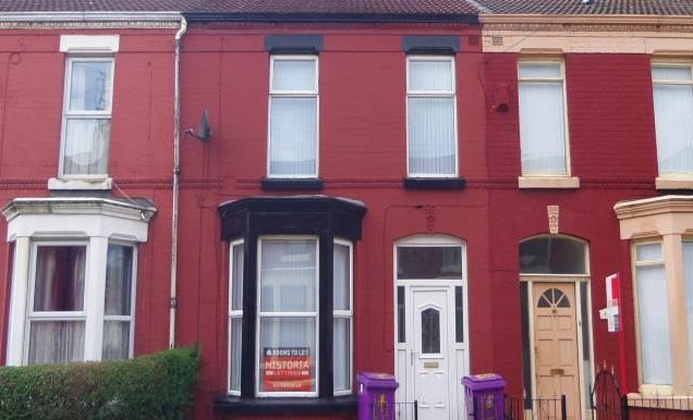 Thumbnail Shared accommodation to rent in Alderson Road, Liverpool