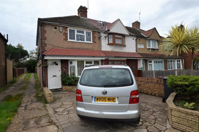 Thumbnail End terrace house for sale in Hampton Road West, Hanworth, Feltham