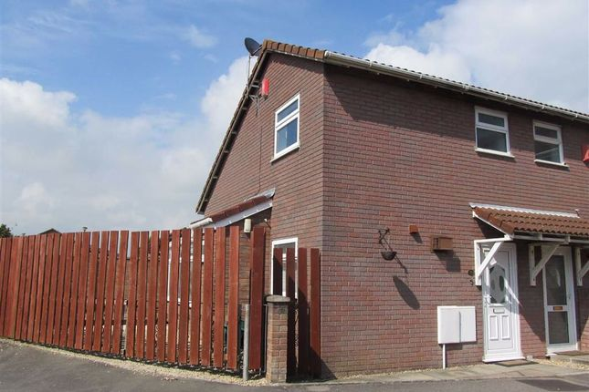 Thumbnail End terrace house to rent in Woodham Park, Barry, Vale Of Glamorgan