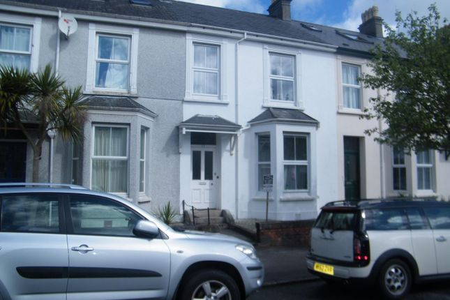 Thumbnail Town house to rent in Marlborough Road, Falmouth