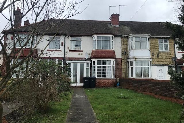Thumbnail Terraced house to rent in Tyburn Road, Erdington, Birmingham