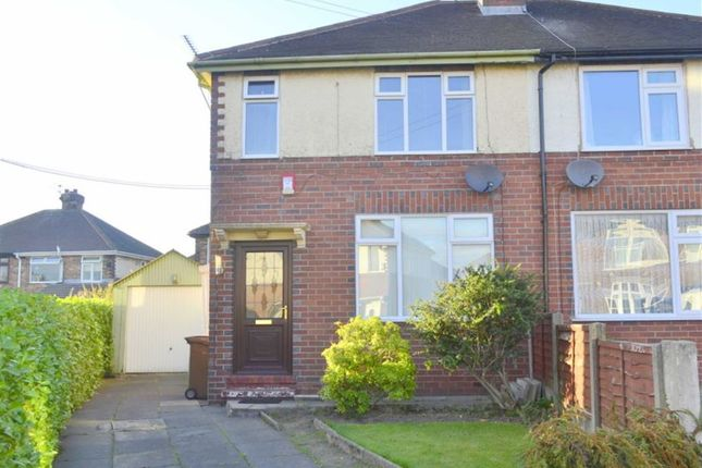 Thumbnail Semi-detached house for sale in Hazel Grove, Meir, Staffordshire