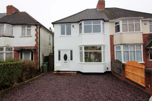 3 bed semi-detached house to rent in Prestwood Avenue, Wednesfield, Wolverhampton WV11
