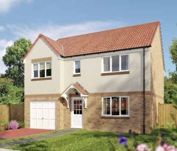 "Thumbnail Detached house for sale in ""The Thornwood"" at Greenlees Road, Cambuslang, Glasgow"