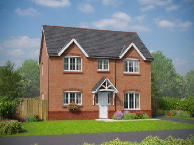 Thumbnail Detached house for sale in The Meliden, Holmes Chapel Road, Congleton, Cheshire