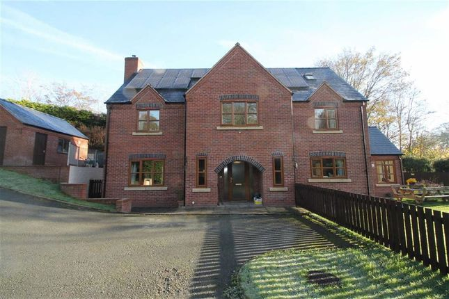 Thumbnail Detached house for sale in Stone Lane, Welshpool