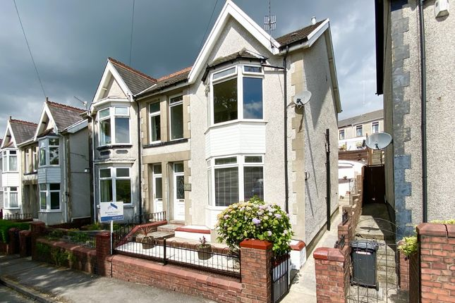 Thumbnail Semi-detached house for sale in Elm Grove, Gadlys, Aberdare, Mid Glamorgan