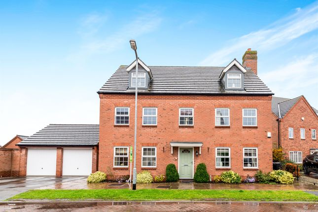 Thumbnail Detached house for sale in Barlow Drive, Fradley, Lichfield