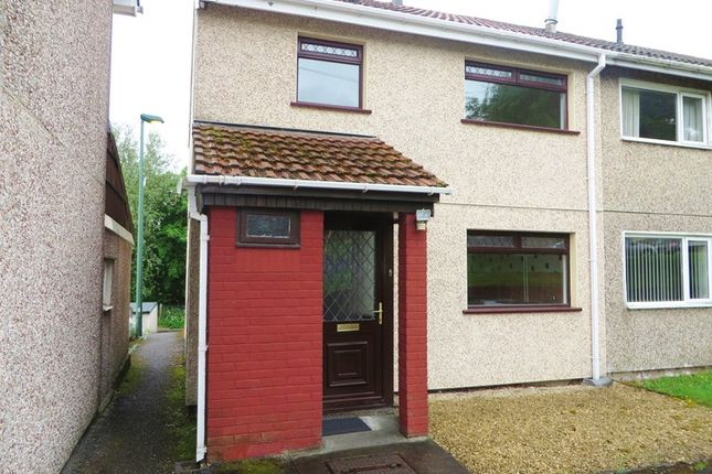 Thumbnail End terrace house for sale in Nantyglo, Ebbw Vale