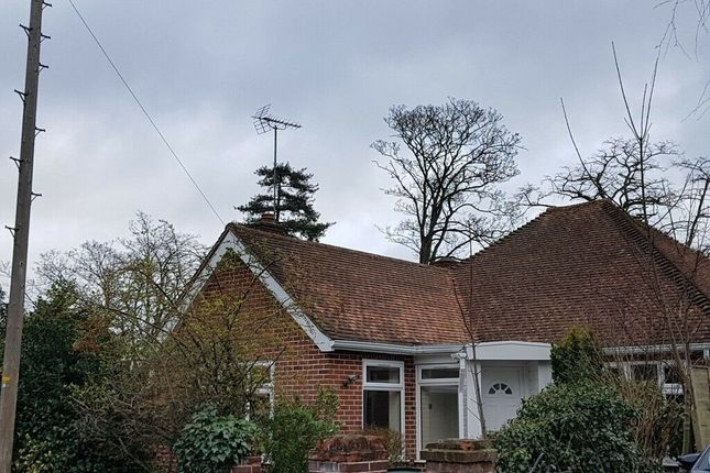 Thumbnail Bungalow to rent in The Mount, Reading