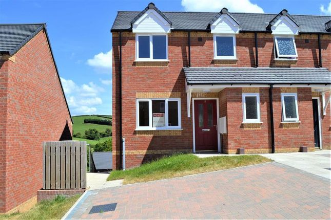 Thumbnail Semi-detached house to rent in 8, Brynmor Parc, Bryn Lane, Newtown, Powys