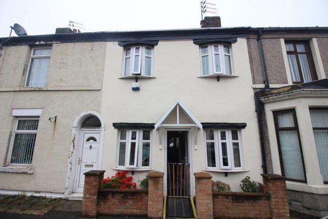Thumbnail Terraced house for sale in Warren Street, Fleetwood