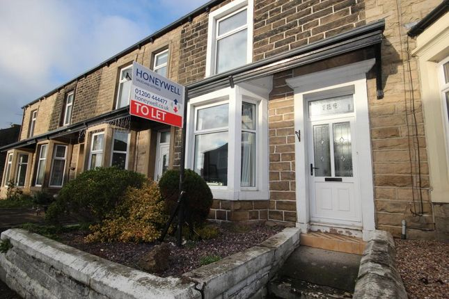 Thumbnail Terraced house to rent in Whalley Road, Read, Burnley, Lancashire