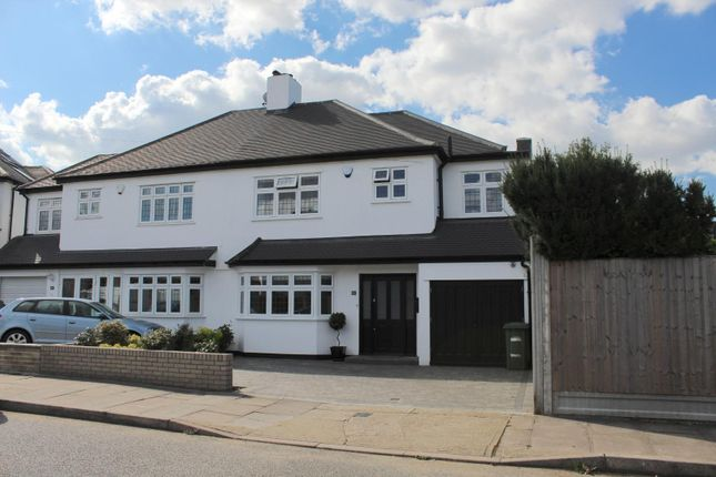 Thumbnail Property for sale in Repton Avenue, Gidea Park, Romford