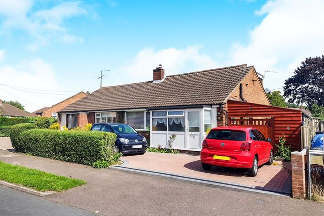 Thumbnail Bungalow for sale in Tudor Close, Bromham, Bedford