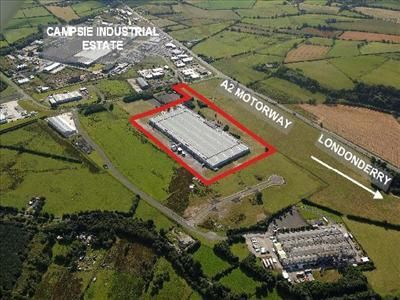 Thumbnail Land for sale in 1 Fruit Of The Loom Drive, Campsie, Londonderry, County Londonderry